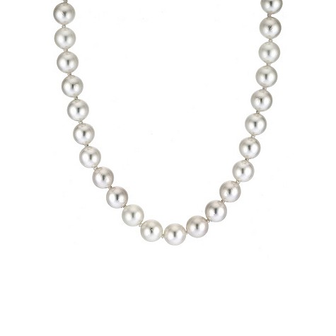 Cultured 6.5-7mm pearl necklace