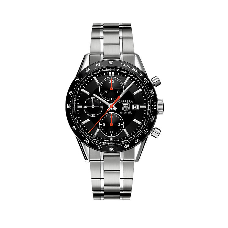 TAG Heuer Carrera Automatic men's chronograph bracelet watch - Product number 6501591