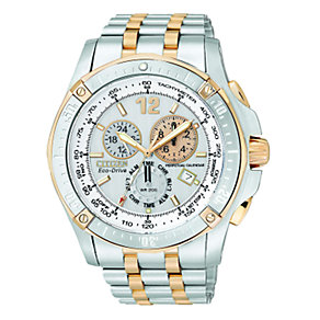 Citizen Eco-Drive Men's Chronograph Bracelet Watch - Product number 6516262