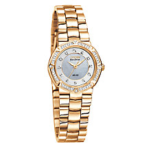 Citizen Eco-Drive Ladies' Rose Gold And Stone Set Watch - Product number 6521991