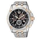 Citizen Eco-Drive men's two colour bracelet watch - Product number 6522009