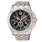Citizen Eco-Drive men's two colour bracelet watch - Product number 6522009