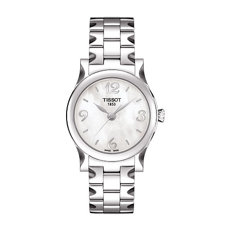 Tissot Stylis-T ladies mother of pearl bracelet product image