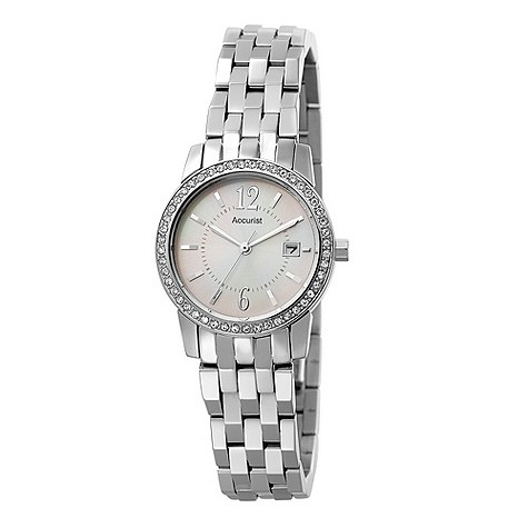 Accurist ladies mother of pearl dial watch product image