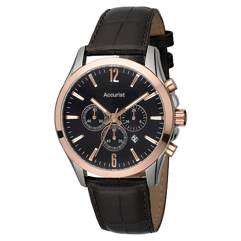 Accurist mens chronograph watch product image
