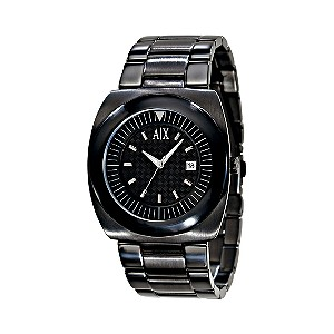 Armani Exchange Men's Ion Plated Bracelet Watch