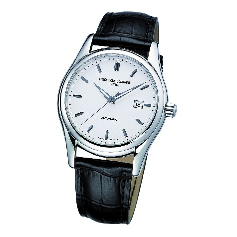 Unbranded Frederique Constant mens black leather strap
