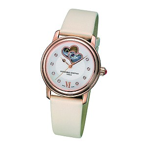 Frederique Constant ladies' diamond set heart dial watch - Product number 6563236