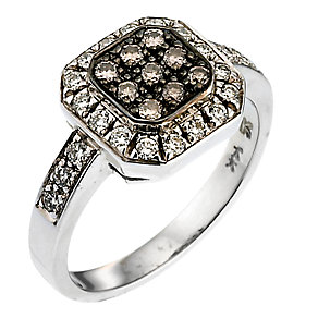 Le Vian 14CT Gold 0.48CT Vanilla & Chocolate Diamond® Ring - Product number 6574947