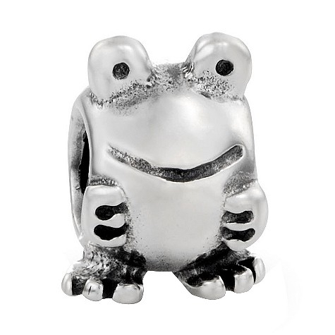 pandora sterling silver frog bead