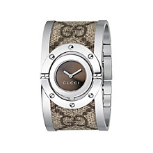 Gucci Twirl ladies' brown bangle watch - Product number 6591973