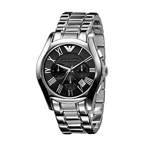 Emporio Armani men's stainless steel chronograph watch - Product number 6619371