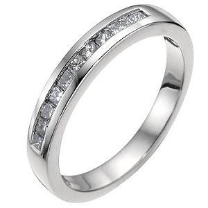 Platinum 1/3 carat diamond wedding ring - Product number 6620817