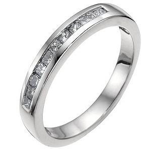 Platinum 1/3 carat diamond wedding ring - Product number 6620817