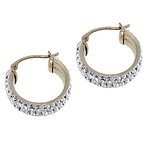 Evoke 9ct Yellow Gold Small Creole Earrings 15mm - Product number 6621651