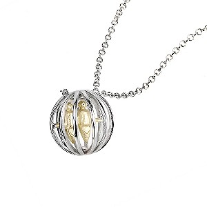 Sterling Silver 18ct Gold