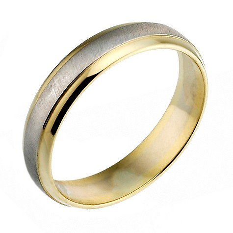 18ct gold two colour ladies