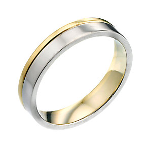 9ct Yellow Gold Plated Wedding Ring - Product number 6644163