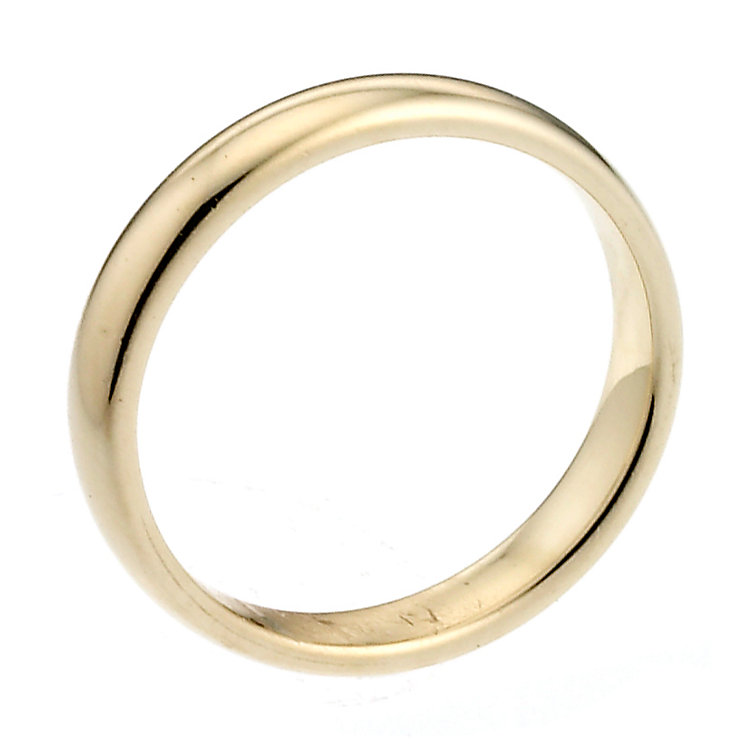 18ct Yellow Gold Extra Heavy 2mm Court Wedding Ring - Product number 6645364