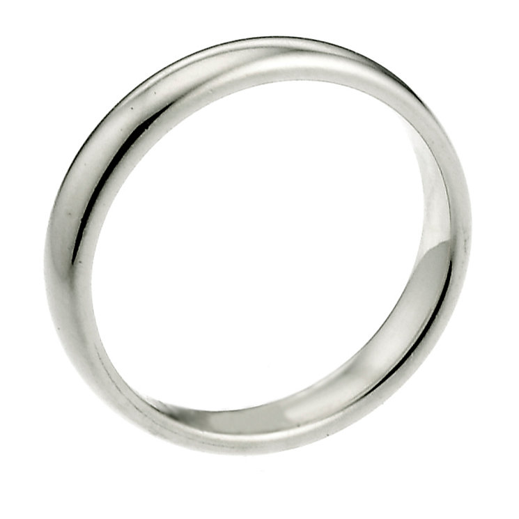 18ct White Gold Extra Heavy 2mm Court Wedding Ring - Product number 6645518