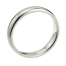 9ct White Gold 2mm Extra Heavy Court Ring - Product number 6655491