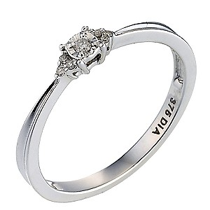Diamond Solitaire Ring - Product number 6664032