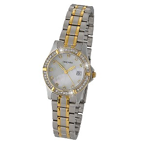 Sekonda Twilight Pearl Stone Set Mother Of Pearl Dial Watch