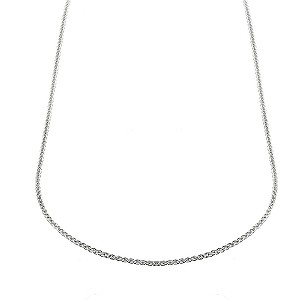 Silver Spiga Link Chain 16