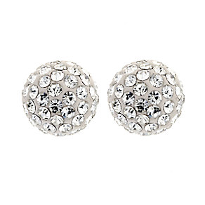 8mm Glitter Stud Earrings - Product number 6715036