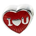 Truth Sterling Silver i Love You Heart - Product number 6718779