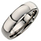 Titanium polished court ring - Product number 6719643