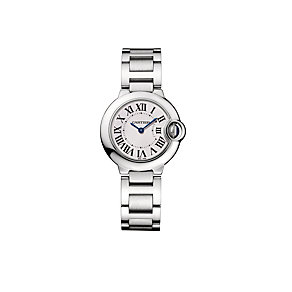 Cartier Ballon Bleu ladies' stainless steel bracelet watch - Product number 6725007