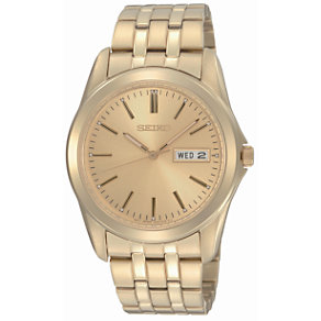Seiko Men's Gold-Plated Bracelet Watch - Product number 6743447