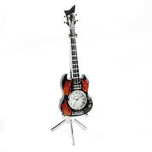 Miniature Gibson Guitar Clock