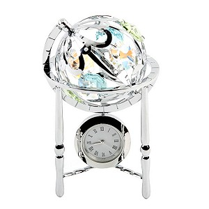 Crystocraft Globe Clock product image