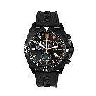 Rotary men's black rubber bracelet watch - Product number 6746845