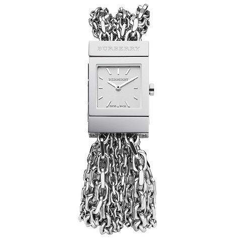 ladies multi chain bracelet watch
