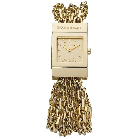 ladies gold-plated multi chain
