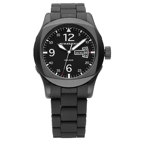 mens black bracelet watch