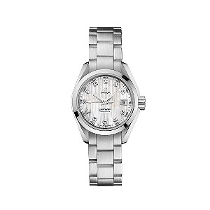 Omega Seamaster ladies' diamond set dial bracelet watch - Product number 6762808