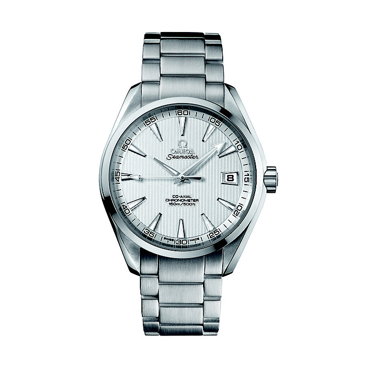 Omega Seamaster men's silver dial bracelet watch - Product number 6764630