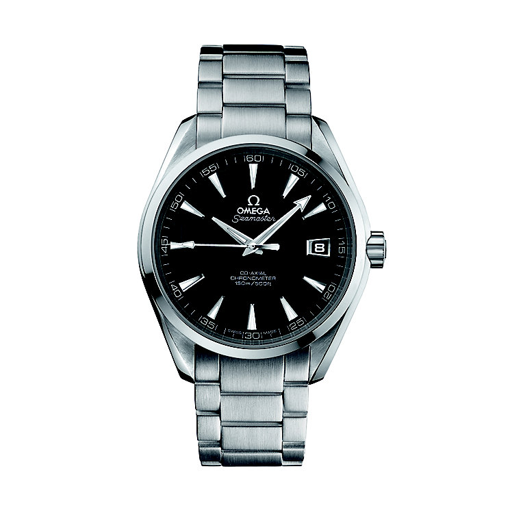 Omega Seamaster men's stainless steel bracelet watch - Product number 6764649