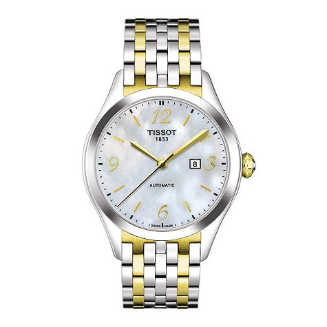 tissot T-One ladies automatic two colour