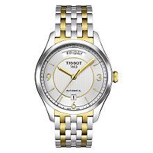 Tissot T-One men's automatic two colour bracelet watch - Product number 6764819