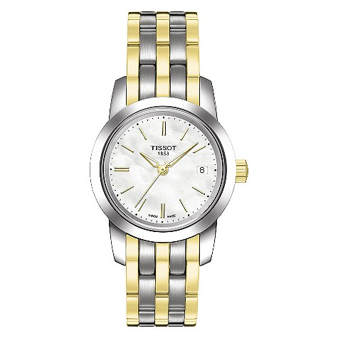 Tissot ladies automatic two colour bracelet watch product image