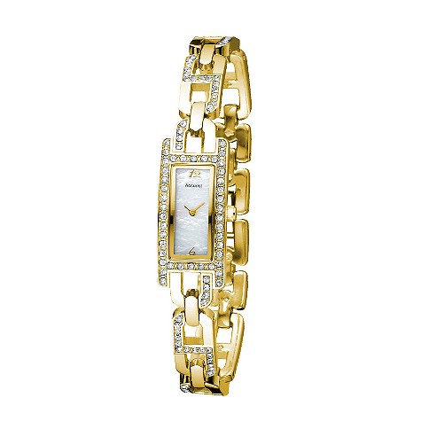 Accurist ladies gold plated mother of pearl product image