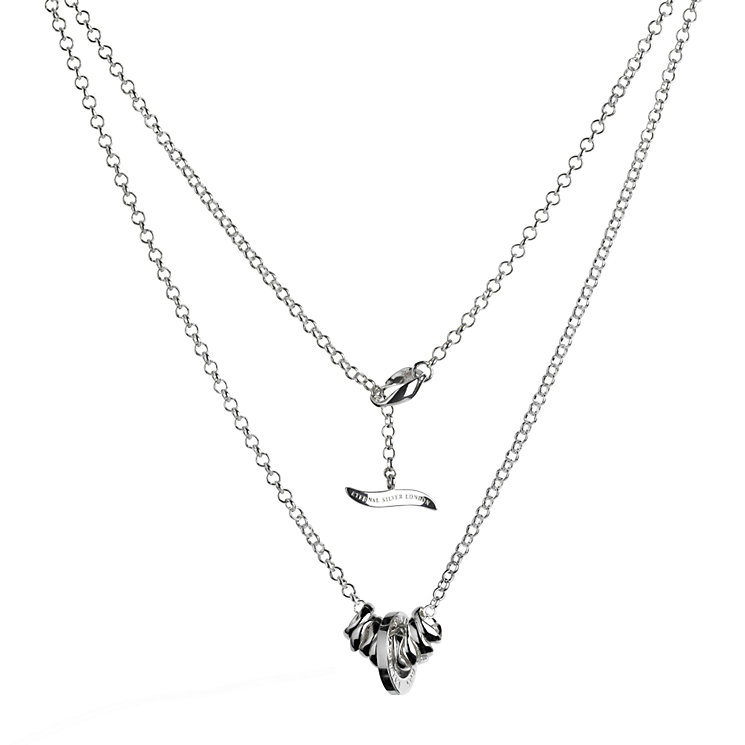 Eternal Silver ladies' pendant 20