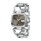 Gucci G-Gucci ladies' diamond stainless steel bracelet watch - Product number 6789676