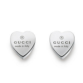 Gucci Stud earrings with engraved Gucci trademark heart - Product number 6793339