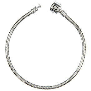 "Chamilia silver snap bracelet 19cm or 7.5"" - Product number 6801730"